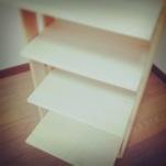 豆本用の紙の棚を作る②